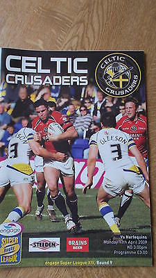 13.4.09 Celtic Crusaders v Harlequins programme