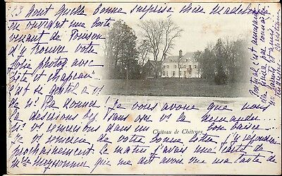 Cpa France 1901 - Chateau De Chatenoy -
