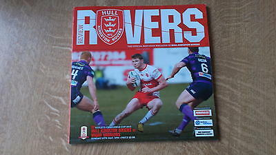 12.5.13 Hull KR v Wigan Warriors programme