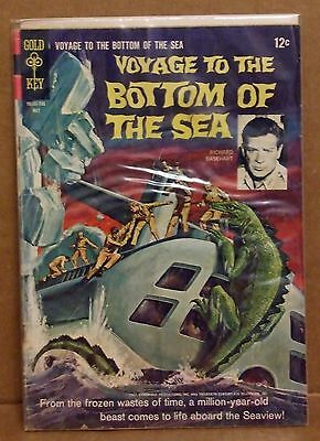 Voyage To The Bottom Of The Sea Gold Key #8 May '67 Comic in Good Cond Slip Cvr
