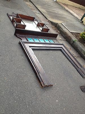 Antique Victorian / Federation Fireplace & Surround  -  pick up St Peters 2044