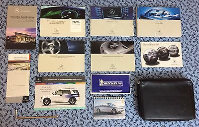 2005 Mercedes CLK Class Cabriolet 320 500 CLK55AMG Owners Manual w/ COMAND OEM
