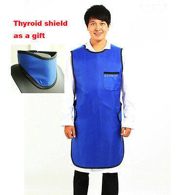M Size X-Ray Protection Apron Protective Lead Vest with Thyroid Shield 0.35mmPb