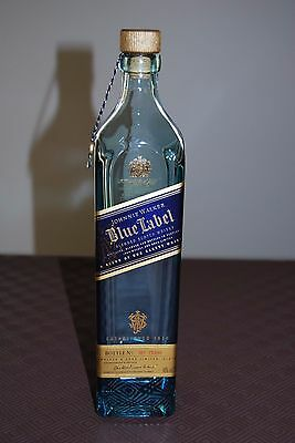 Johnnie Walker Blue Label Scotch Whisky empty 700ml Bottle