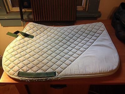 Horse Riding English saddlepad square Quilted Lot Of Three