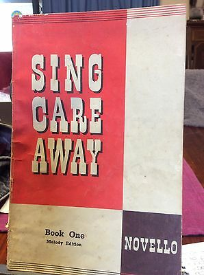 Sing Care Away, Book One Melody Edition, SHEET MUSIC