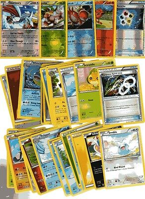 POKEMON CARD LOT #3 ( x 5 FOIL AND 30 BASE CARDS )