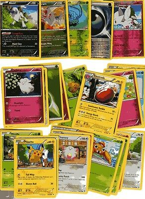 POKEMON CARD LOT #4 ( x 5 FOIL AND 30 BASE CARDS )