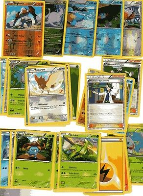 POKEMON CARD LOT #5 ( x 5 FOIL AND 30 BASE CARDS )