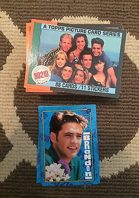 Topps New Kids On the Block & Beverly Hills 90210 Sets w Stickers
