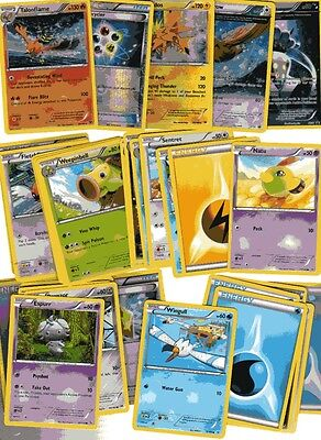 POKEMON CARD LOT #6 ( x 5 FOIL AND 30 BASE CARDS )