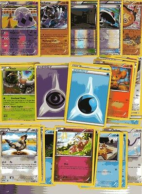 POKEMON CARD LOT # 13 ( x 5 FOIL AND 30 BASE CARDS )