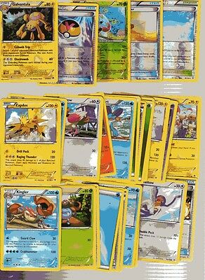 POKEMON CARD LOT # 16 ( x 5 FOIL AND 30 BASE CARDS )
