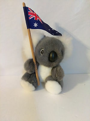 Boomerang toys Sydney Austraila Koala plush stuffed animal 5.5""