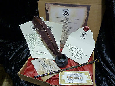 Hermione Granger Wand, quill, cauldron,acceptance letter, express ticket, Spells