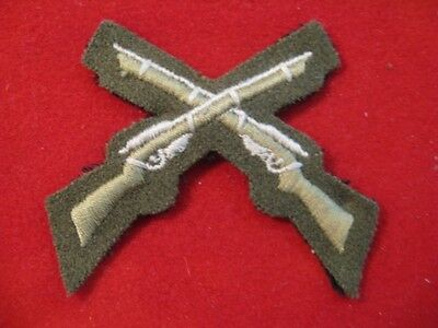 Canada: pre168 Sharpshooter Patch for the old Khaki uniform sleeve
