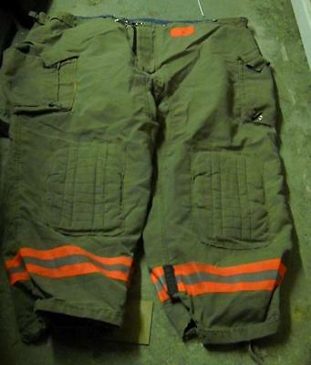 Morning Pride Firemans Turnout  Bunker Pants Gear 56/31 Globe Fire Dex Securitex