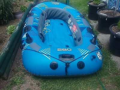4 person 280 sheerwater inflatable boat