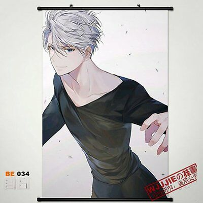 YUR on ICE Victor Attractive Cool Poster Wall Mural Scroll Painting 60*90cm