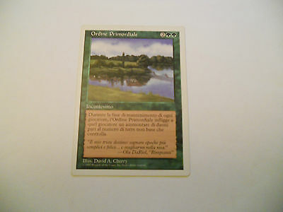 1x MTG Ordine Primordiale-Primal Order Magic EDH 5th Quinta ed Base ITA x1