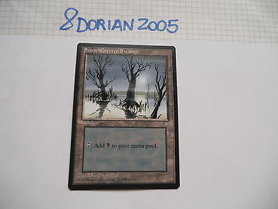 1x MTG Palude Innevata-Snow-Covered Swamp Magic EDH IA Era Glaciale ITA-ING x1