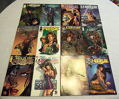 Lot Of 12 Topcow Comics Tales Of The Witchblade Vol. 1 #4 Jan. 1998, Vol. 1 #3 O