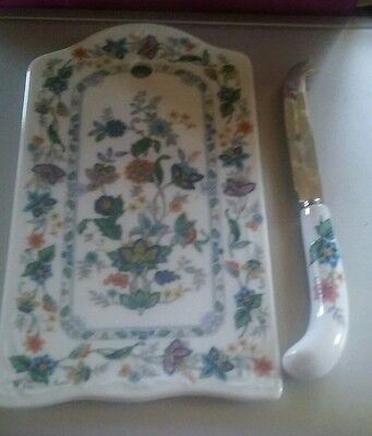 Andrea By Sadek Porcelain Cutting Board with Matching Knife