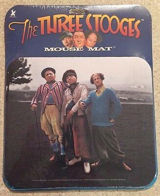 Three Stooges Mouse Mat (color golf, model 32350, 1998)