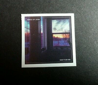 KINGS OF LEON WAIT FOR ME PHOTO SMALL TINY 1x1 MUSIC STICKER