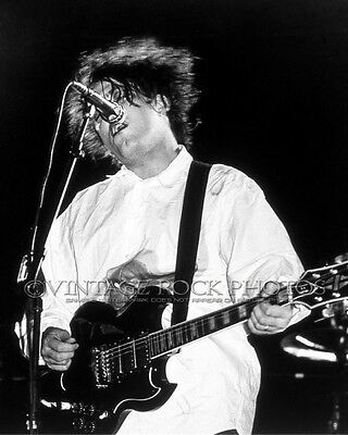 """Robert Smith, The Cure Photo 8x10 or 8x12"""" 1980's Live Concert Pro Fuji Print 10"""