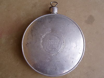 Palco Pressed Aluminum Canteen, Patented 1915, As Is