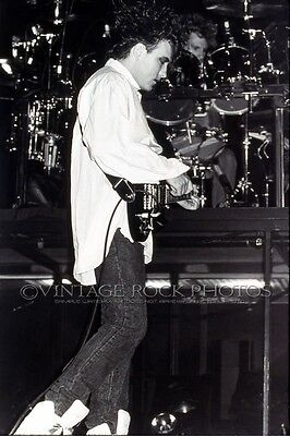 """Robert Smith, The Cure Photo 8x12 or 8x10"""" 1980's Live Concert Pro Fuji Print 8"""
