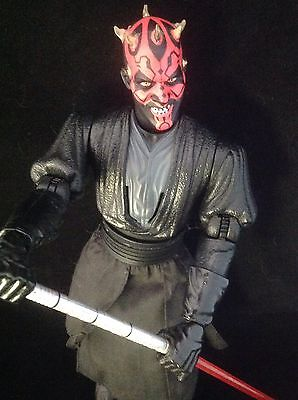 Star Wars Darth Maul Movable Action Figure Episode 1 ~ Hasbro 1999