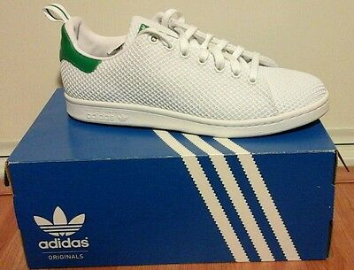 magasin d'usine 02eca 6e97b ADIDAS STAN SMITH CK Size 9 S80047 Green and White Mesh