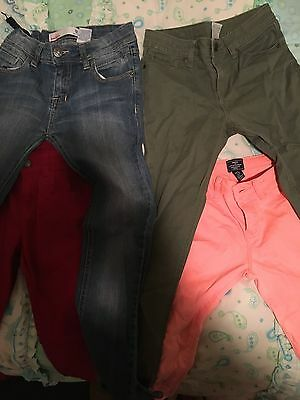 Girls Jeans Size 12 - Four Pairs Incl. Gap