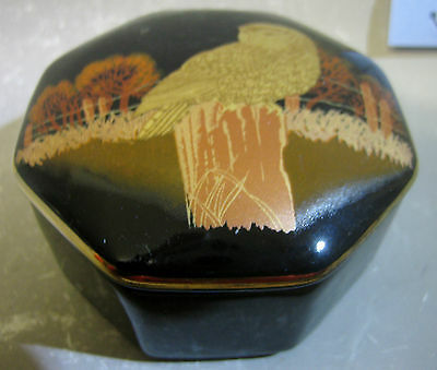 Otagiri Japanese porcelain trinket box