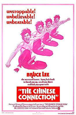 The Chinese Connection (1972) movie poster reproduction single-sided rolled