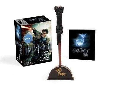 Harry Potter Wizard's Wand with Sticker Book: Lights Up! by Novelty Book (Englis