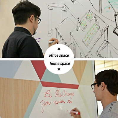 "60''x20"" Single Side Adhesive Writing Whiteboard Dry Erase Board For Office"