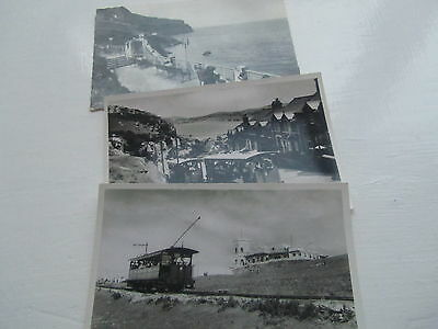 Llandudno Real Photo Collection 26 Old Postcards very attractive