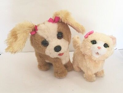 FurReal Friends Bouncy My Happy To See Me Puppy Dog & Kitten Interactive Pets