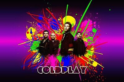 2x COLDPLAY SILVER STANDING CONCERT TICKETS SYDNEY 13 DEC 2016