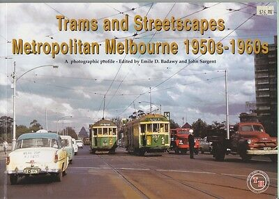 Trams and Streetscapes Metropolitan Melbourne 1950s - 1960s