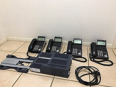 NEC Sv8100 Phone System Used With 4 Handsets