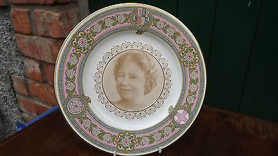 1980 Caverswall China Queen Mother's 80th Plate only 100 made Special Commission