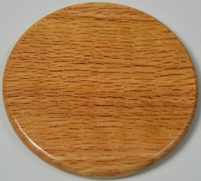 Solid Oak wooden Coaster round shabby chic house rustic home vintage wood plain