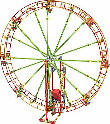 K'NEX Revolution Ferris Wheel Building Set Ages 7+ Girls Build Design Fun