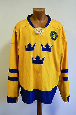 Sweden National Team Ice Hockey Shirt Jersey Maglia Neh