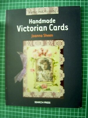 Simple & Stunning HANDMADE VICTORIAN CARDS by JOANNA SHEEN - NEW