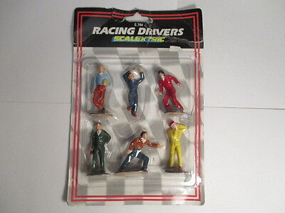Scalextric C784 - RACING DRIVER FIGURES (Type A) - Excellent
